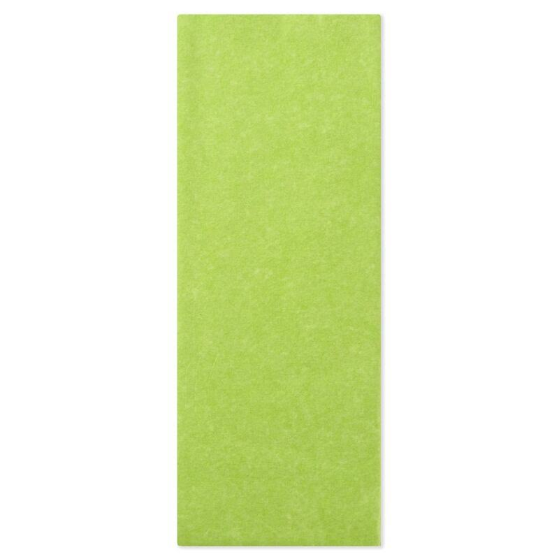 Hallmark Citrus Green Tissue Paper, 8 Sheets