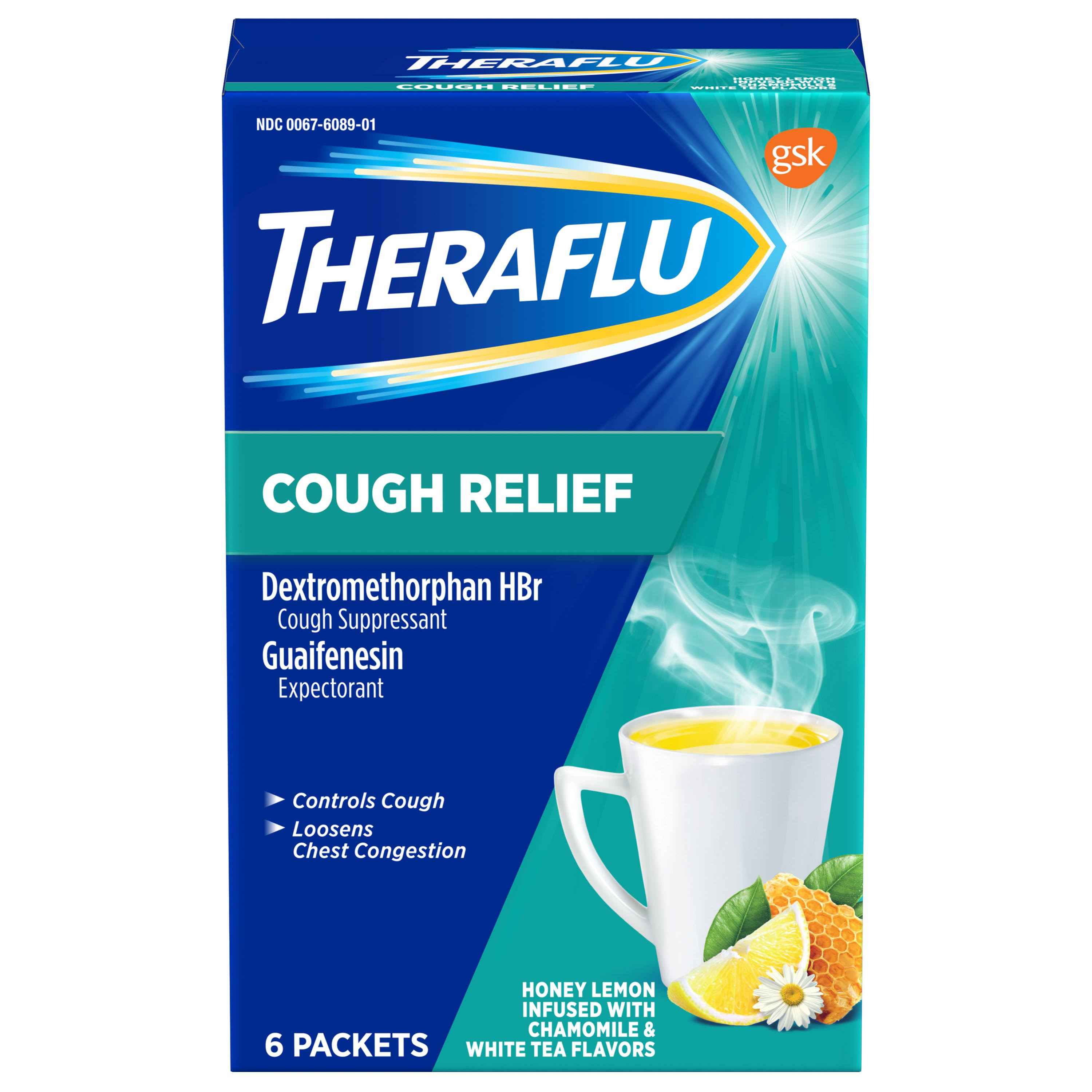 Theraflu Cough Relief, Packets - 6 packets