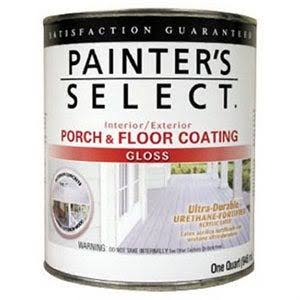 True Value Mfg Ugf3-qt 1-Qt. Gloss Light Gray Porch & Floor Coating (