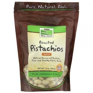 Now Real Food Roasted Pistachios - Salted