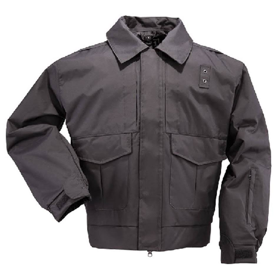 5.11 Tactical 4 in 1 Patrol Jacket - Black Long Large