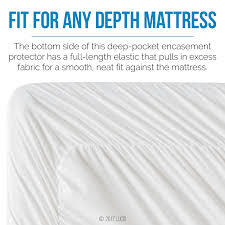 Bed Protector Walmart by Lucid Zippered Mattress Encasement Bed Bug And Waterproof
