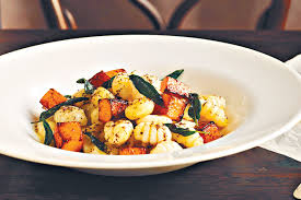 Pumpkin Gnocchi Recipe Gluten Free by Gnocchi With Roasted Pumpkin And Sage Burnt Butter Sauce