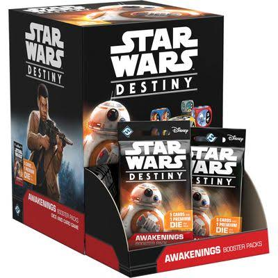 Disney Star Wars Destiny Awakening Booster Pack - 5 Cards