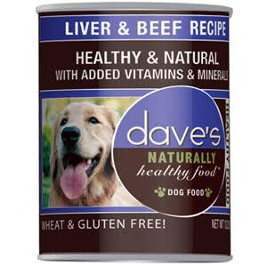 Dave's Liver and Beef 13oz Canned Dog Food