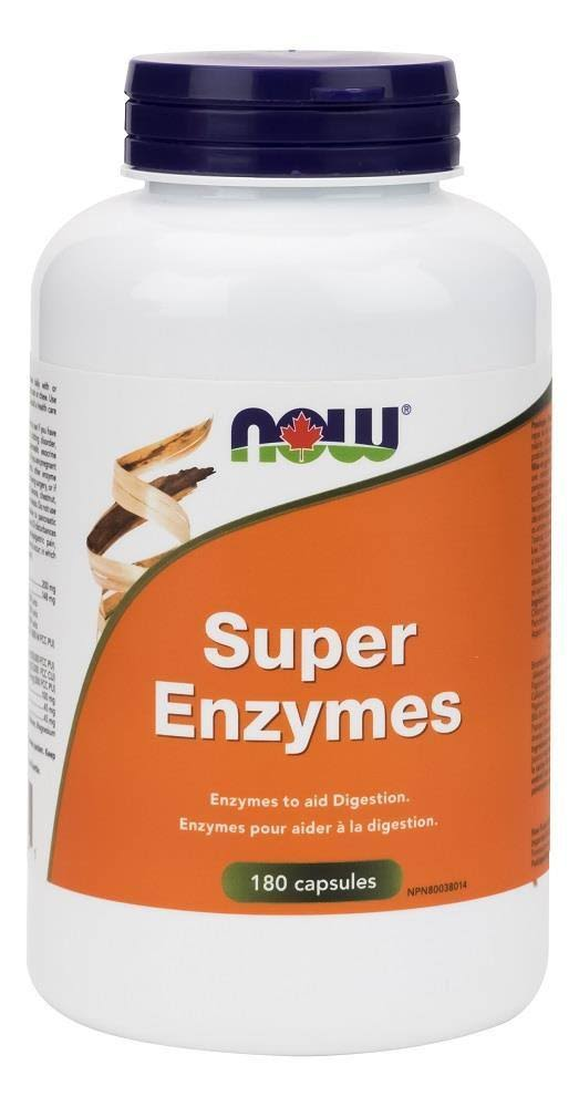 Now Super Enzymes (180 Caps)