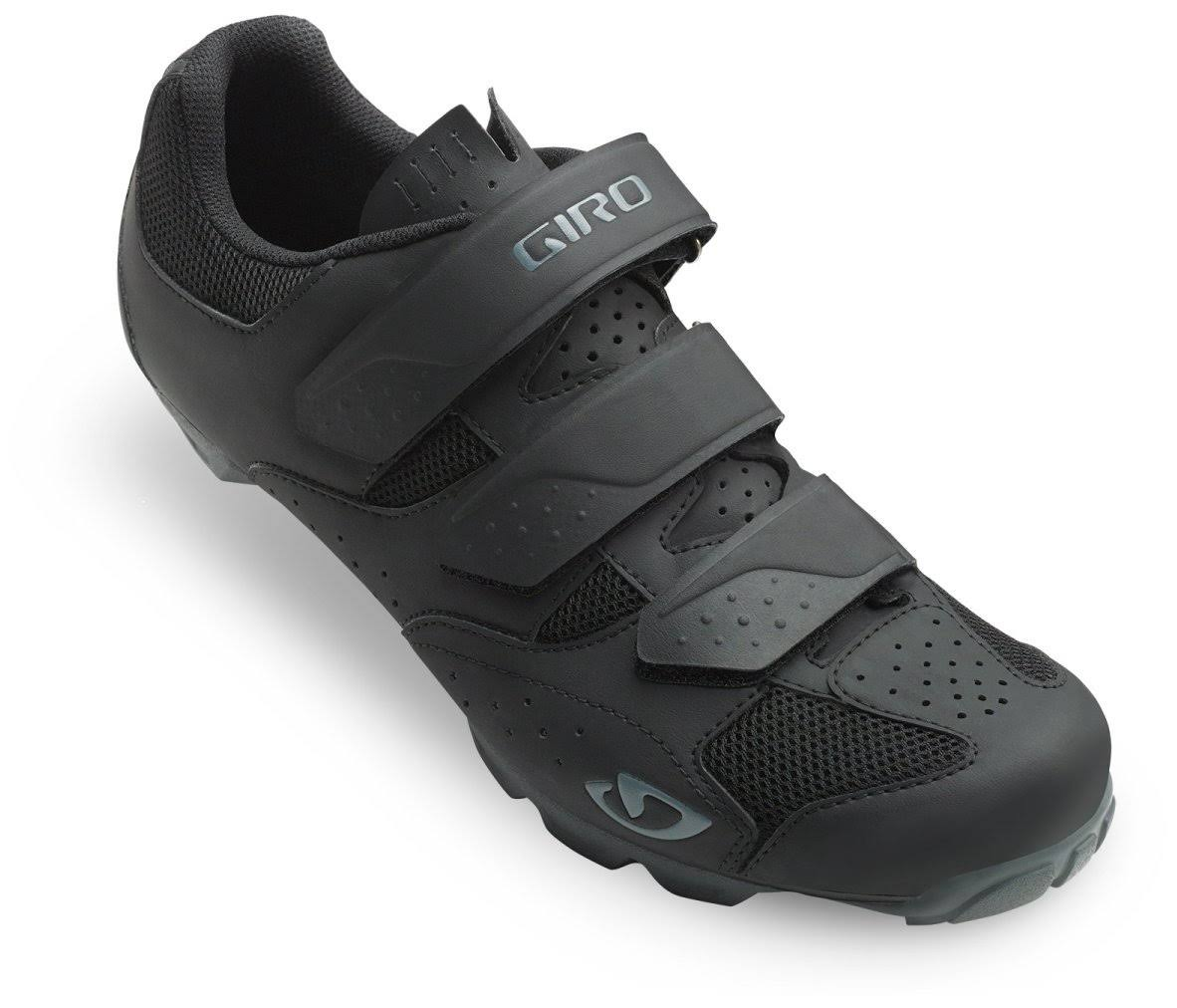 Carbide Mens R II Mountain Bike Shoes - Black Charcoal, 46 EU