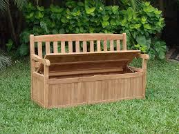Build Outdoor Storage Bench by Garden Storage Bench The Gardens