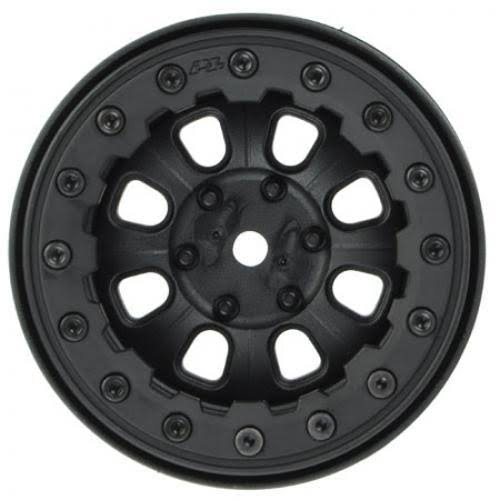 Pro-Line Denali Bead-Loc 8-Spoke Wheel - 2.2in, Black/Black
