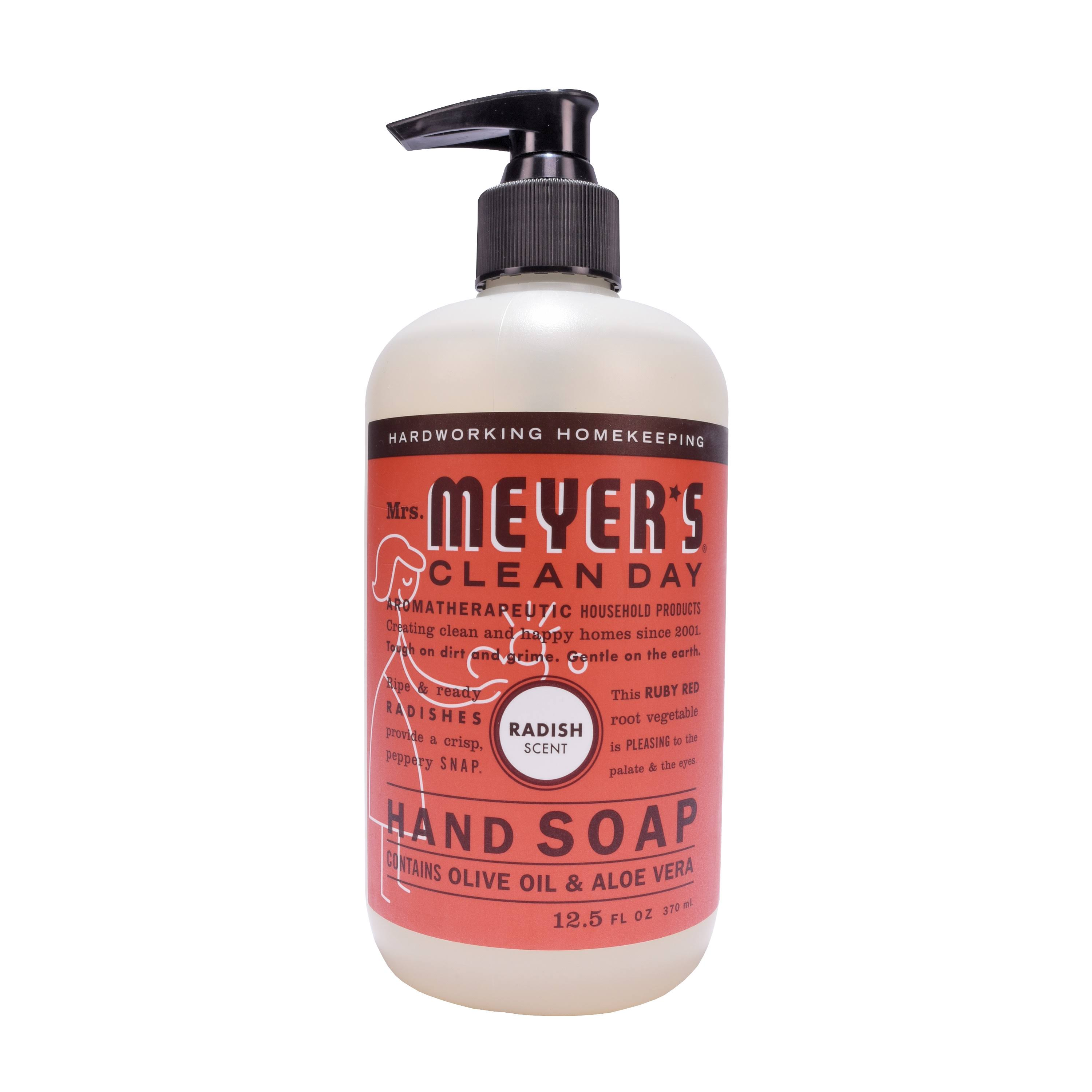 Mrs. Meyers Clean Day Liquid Hand Soap - Radish Scent, 12.5oz