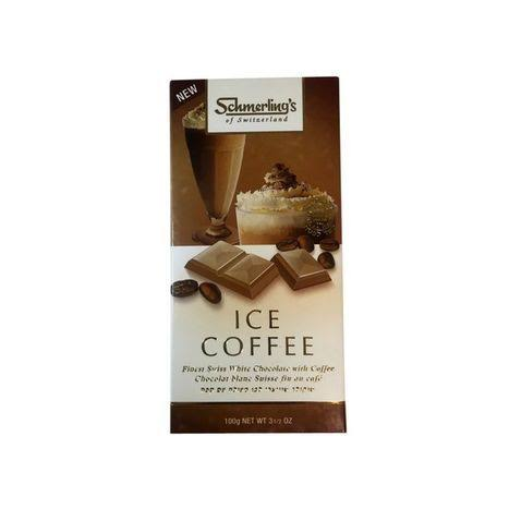 Schmerling's Ice Coffee Chocolate - 3.5 oz bar