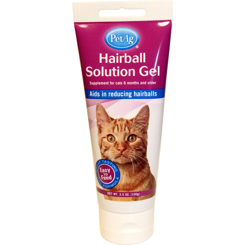 PetAg Hairball Solution Gel For Cats - Chicken, 100g