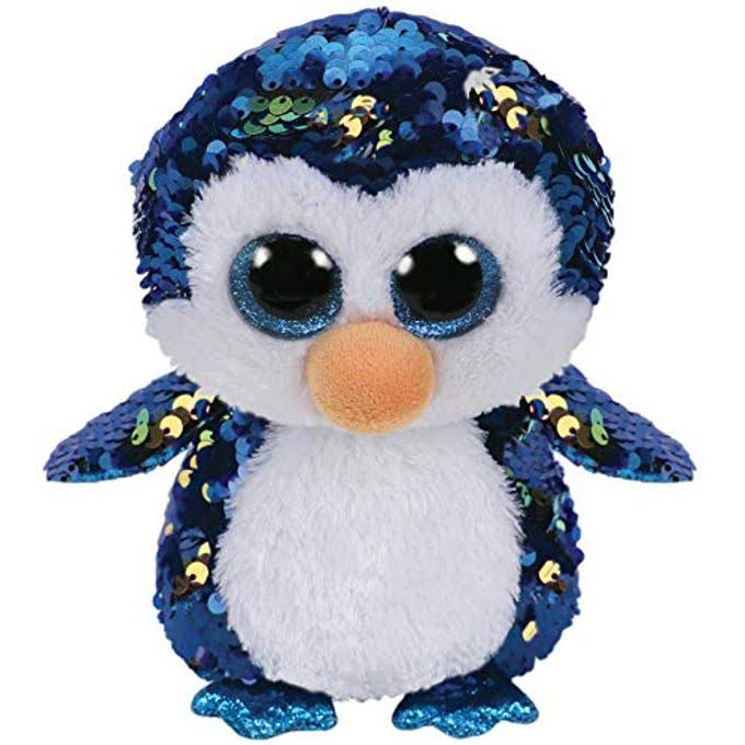 Ty Flippables Payton - The Sequin Penguin - 6""