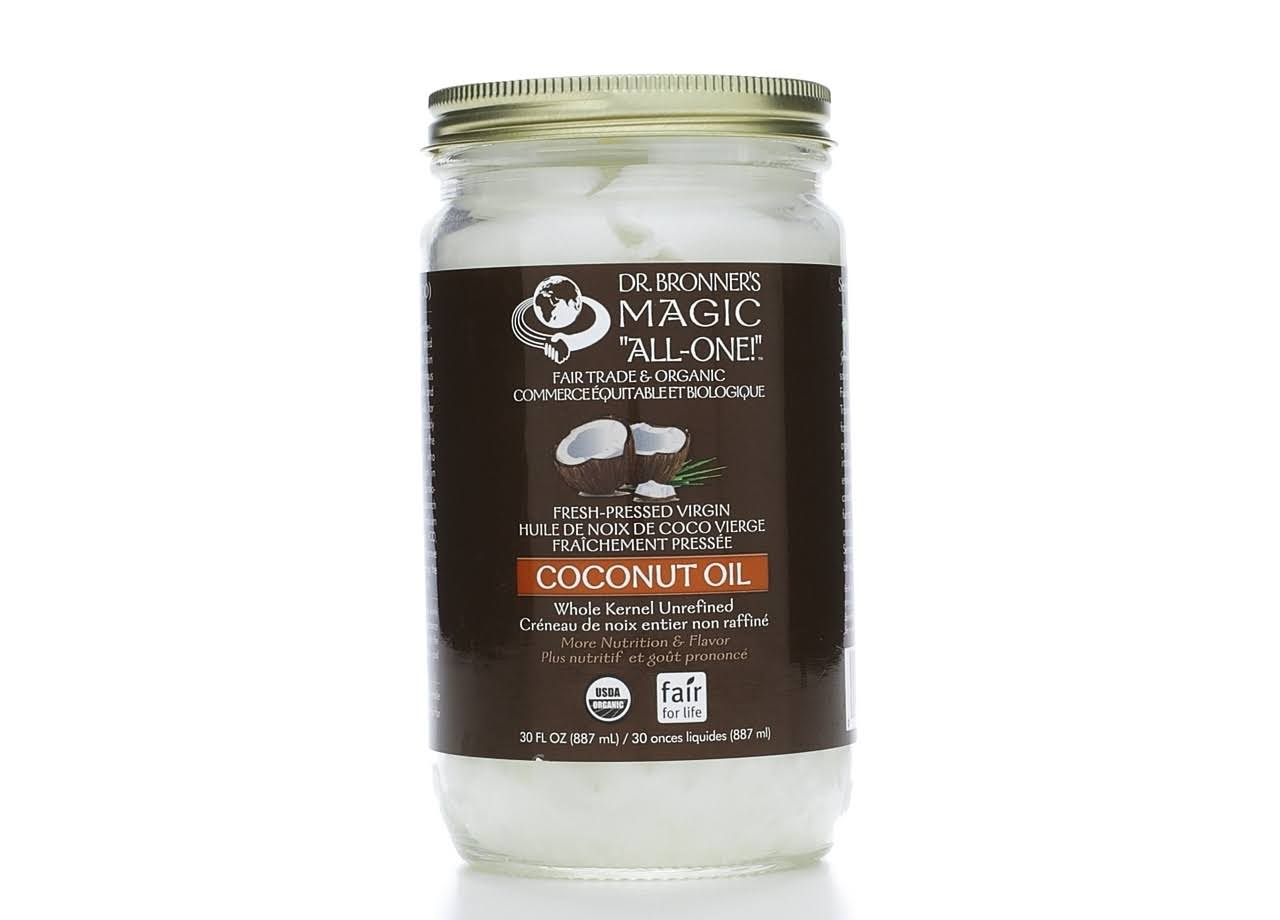 Dr. Bronner's Fair Trade Organic Whole Virgin Coconut Oil