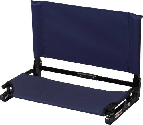 The Stadium Chair Co Deluxe Wide Model Stadium Chair - Navy