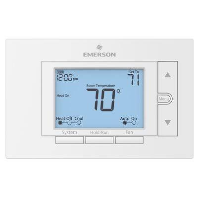 Emerson UP310 7 Day Programmable Digital Thermostat AC Heater Temperature Controller