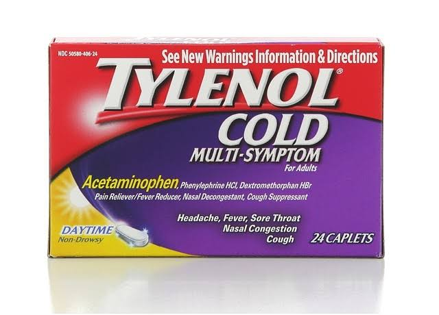 Tylenol Cold Multi-Symptom Relief - 24ct