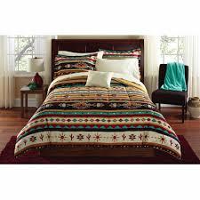 Southwest Decoratives Quilt Shop by Mainstays Kokopeli Bed In A Bag Coordinated Bedding Set Walmart Com