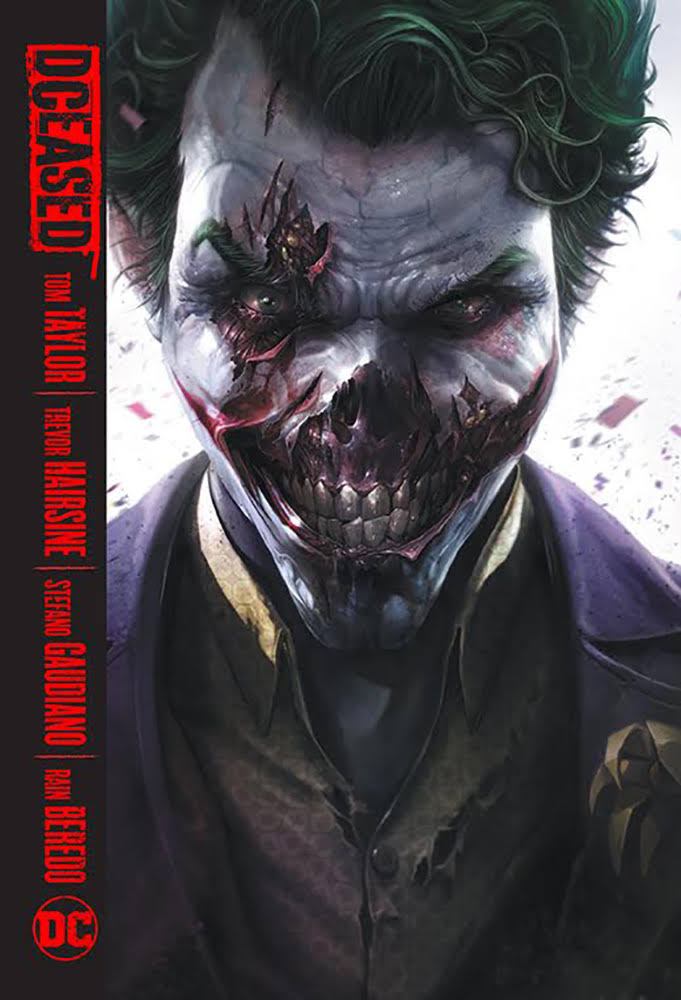 DC Comics DCeased Local Comic Shop Comic Day Cover Hard Cover Comic Book
