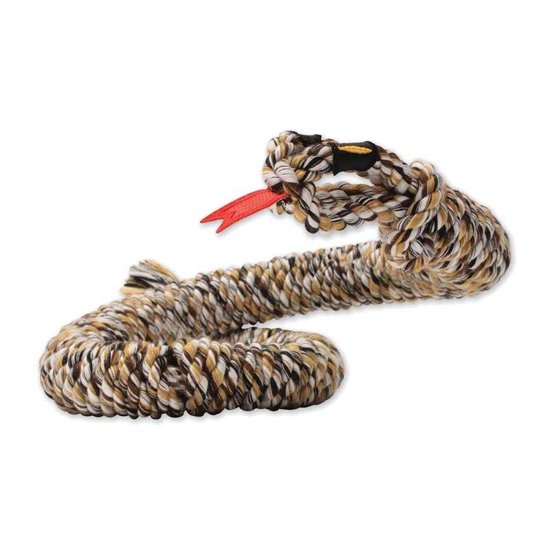 Mammoth Flossy Chew Snakebiter Rope Dog Toy