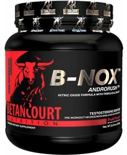 Betancourt Nutrition B-Nox Androrush Sports Supplement - Fruit Punch, 35 Servings