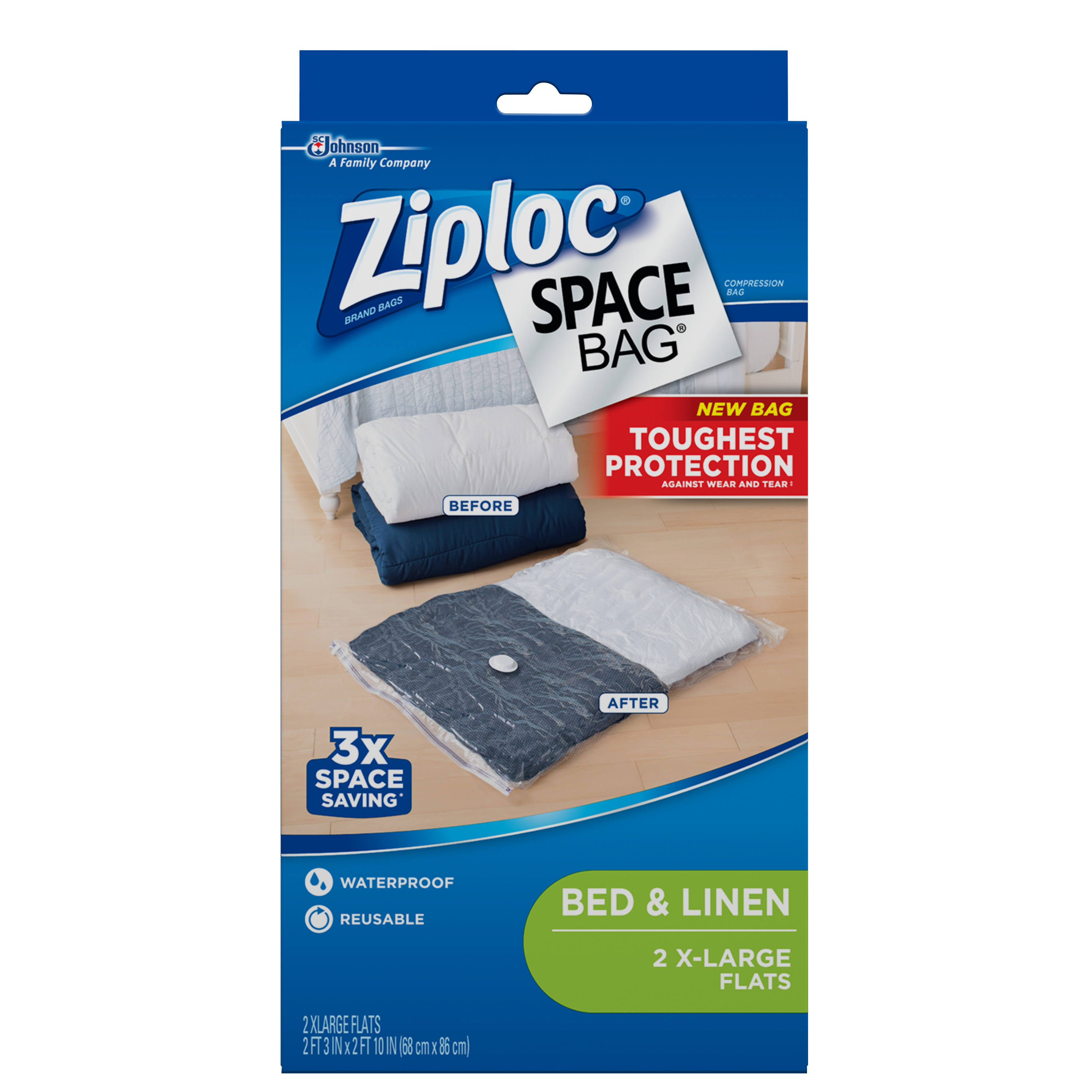 Ziploc Space Bags - X-Large, 2 Pack