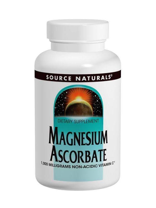 Source Naturals Magnesium Ascorbate Dietary Supplement - 120ct
