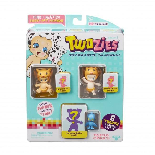 Twozies Friends Pack - 6 Twozies