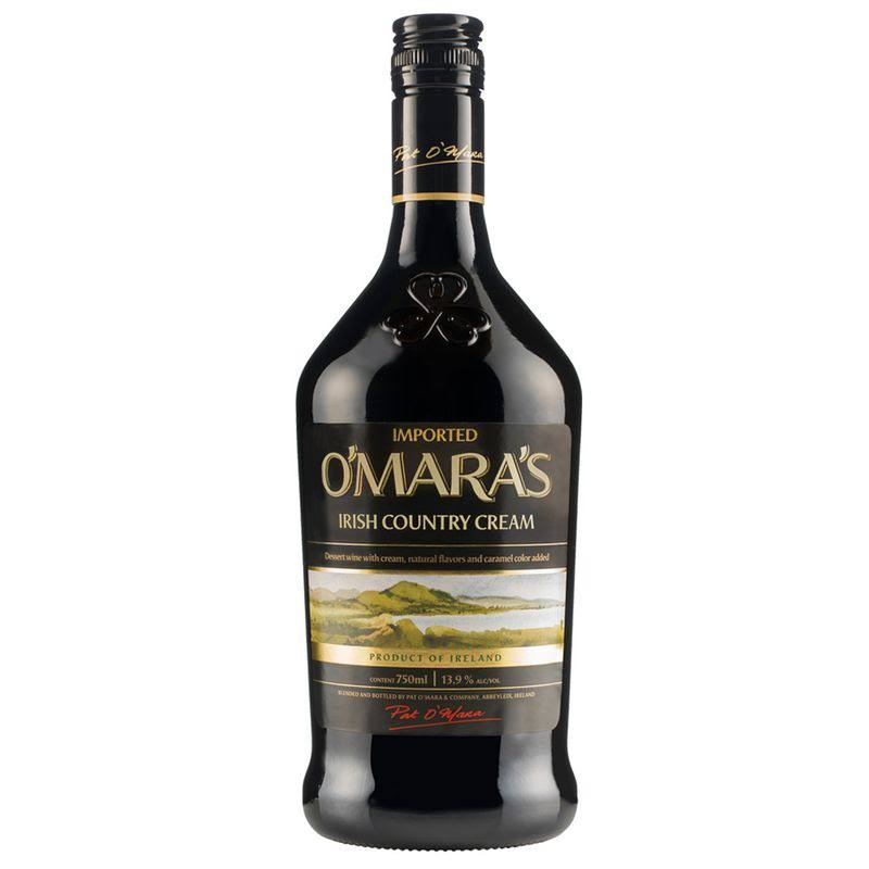 O'Mara's Irish Cream Liqueur - 750 ml bottle
