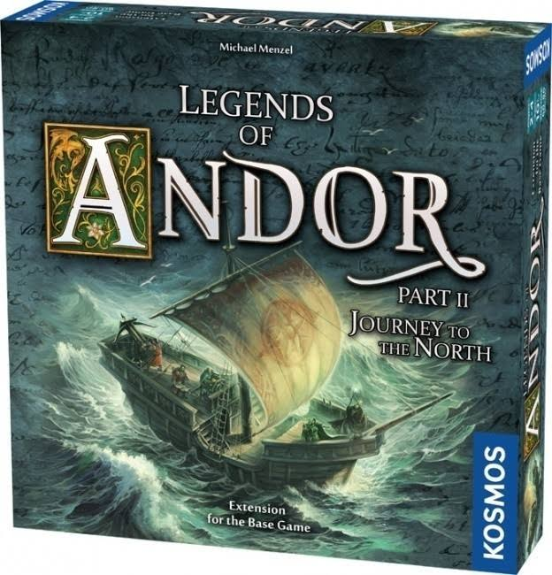 Thames & Kosmos Legends of Andor Board Game Expansion - Journey to The North