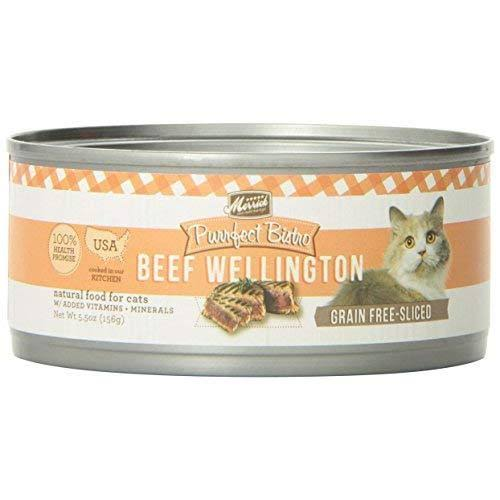 Merrick Purrfect Bistro Grain Free Canned Cat Food - Beef Wellington