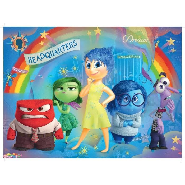 Disney Inside Out Puzzle - 100pcs