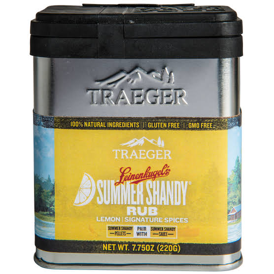 Traeger Leinenkugel's Lemon and Signature Spice Seasoning Rub 7.75 oz.