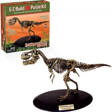 Tyrannosaurus Rex E-Z Build 3D Puzzle Kit Great for Collectors