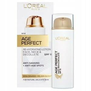 L'Oreal Paris Age Perfect Re-Hydrating Lotion - Spf15