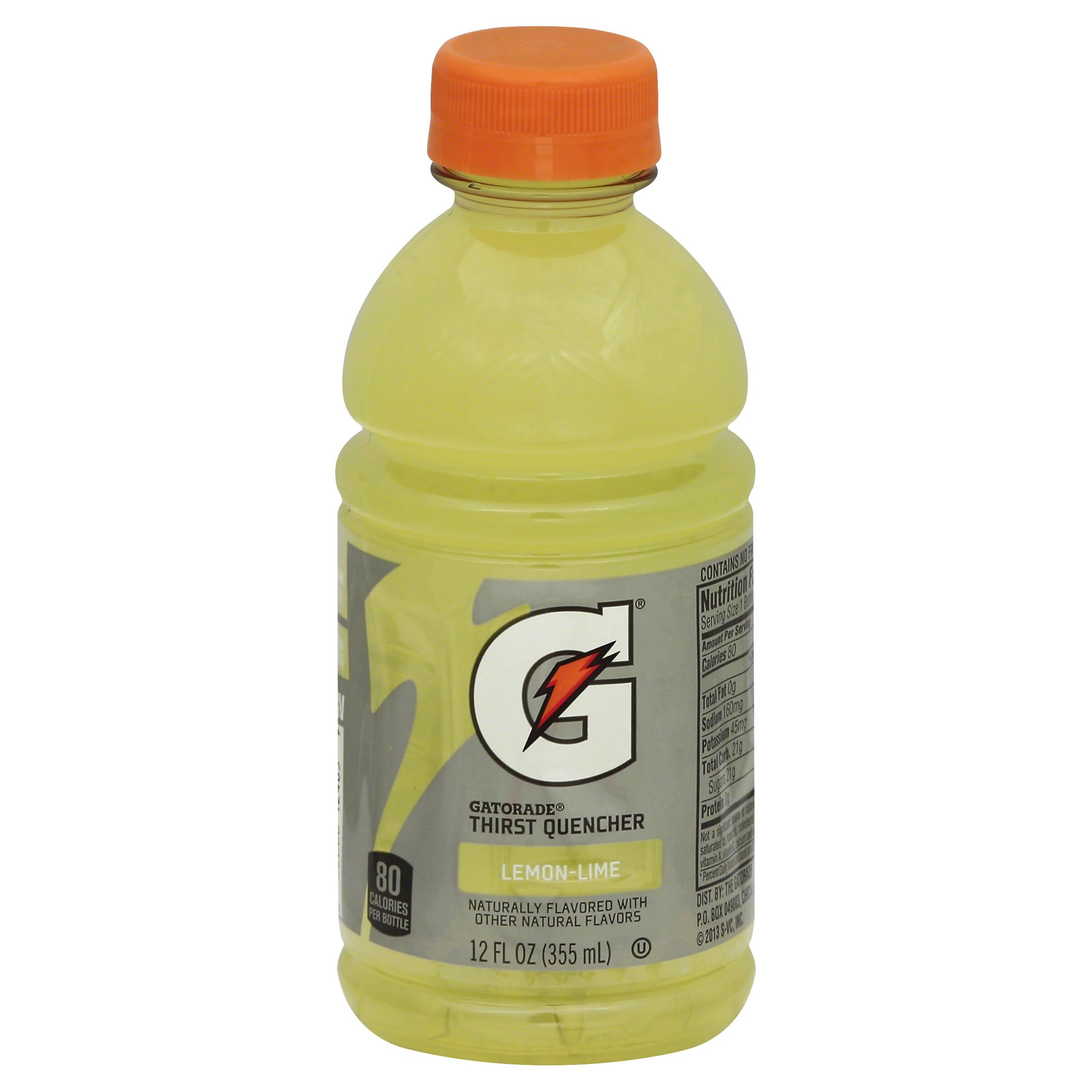 Gatorade G Series Thirst Quencher, Perform, Lemon-Lime - 12 fl oz