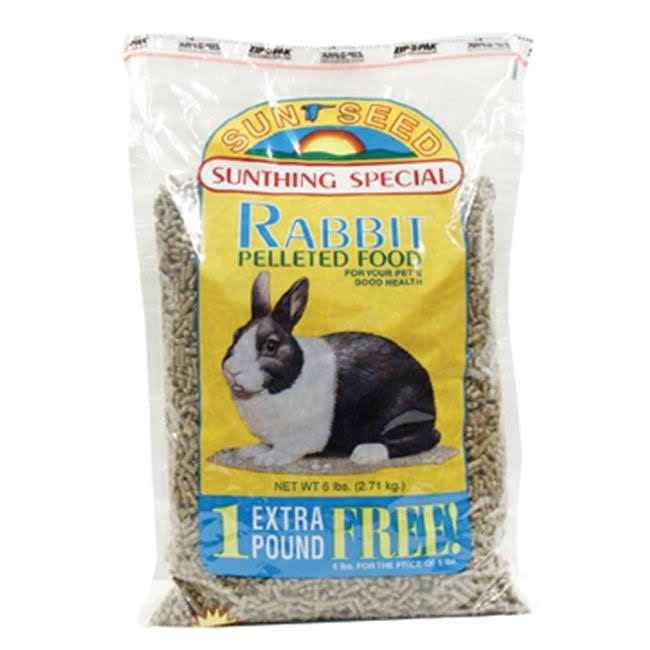 Sunseed Sun Basics Dry Rabbit Food