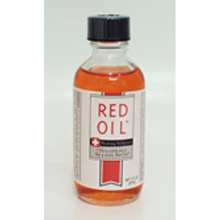 Red Oil Healing Solution - 2 oz Bottle