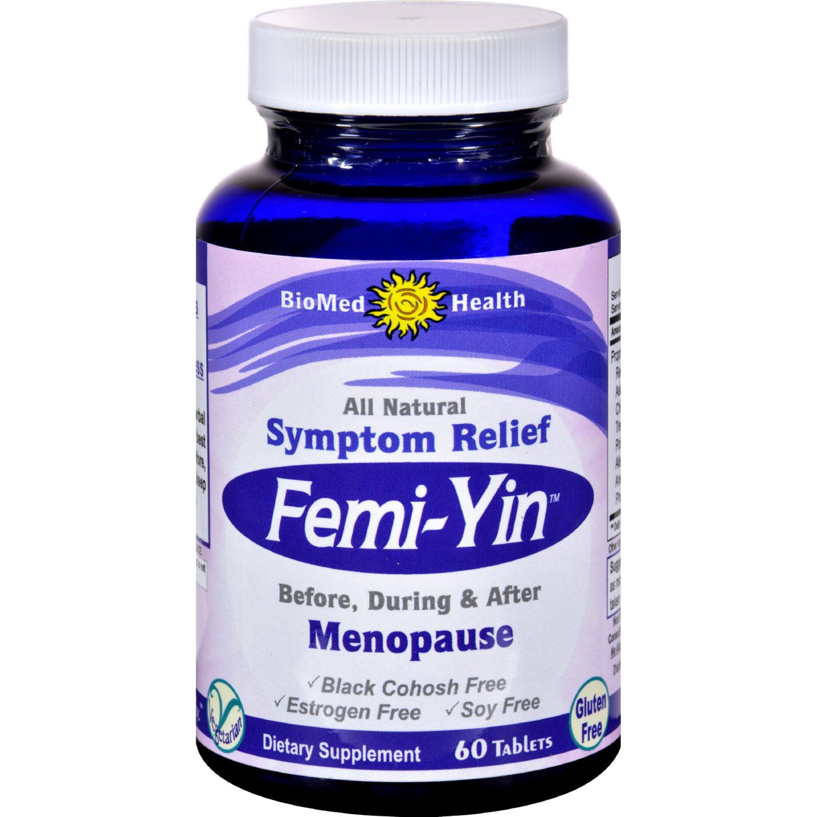Biomed Health Femi-Yin Peri and Menopause Relief - 60 Tablets