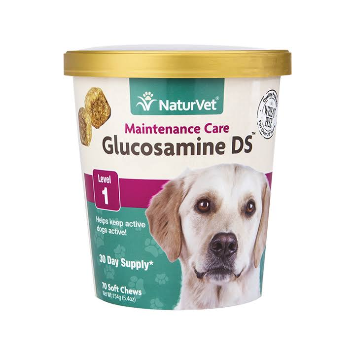 Naturvet Level 1 Maintenance Care Glucosamine Ds Dog Soft Chews - 154g