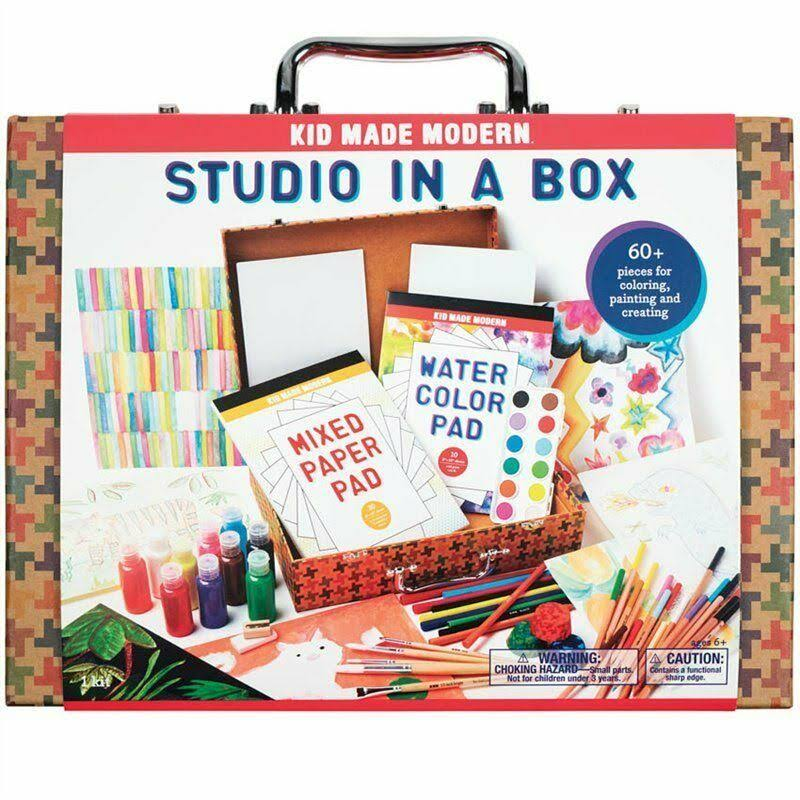 Kid Made Modern Studio In A Box Playset