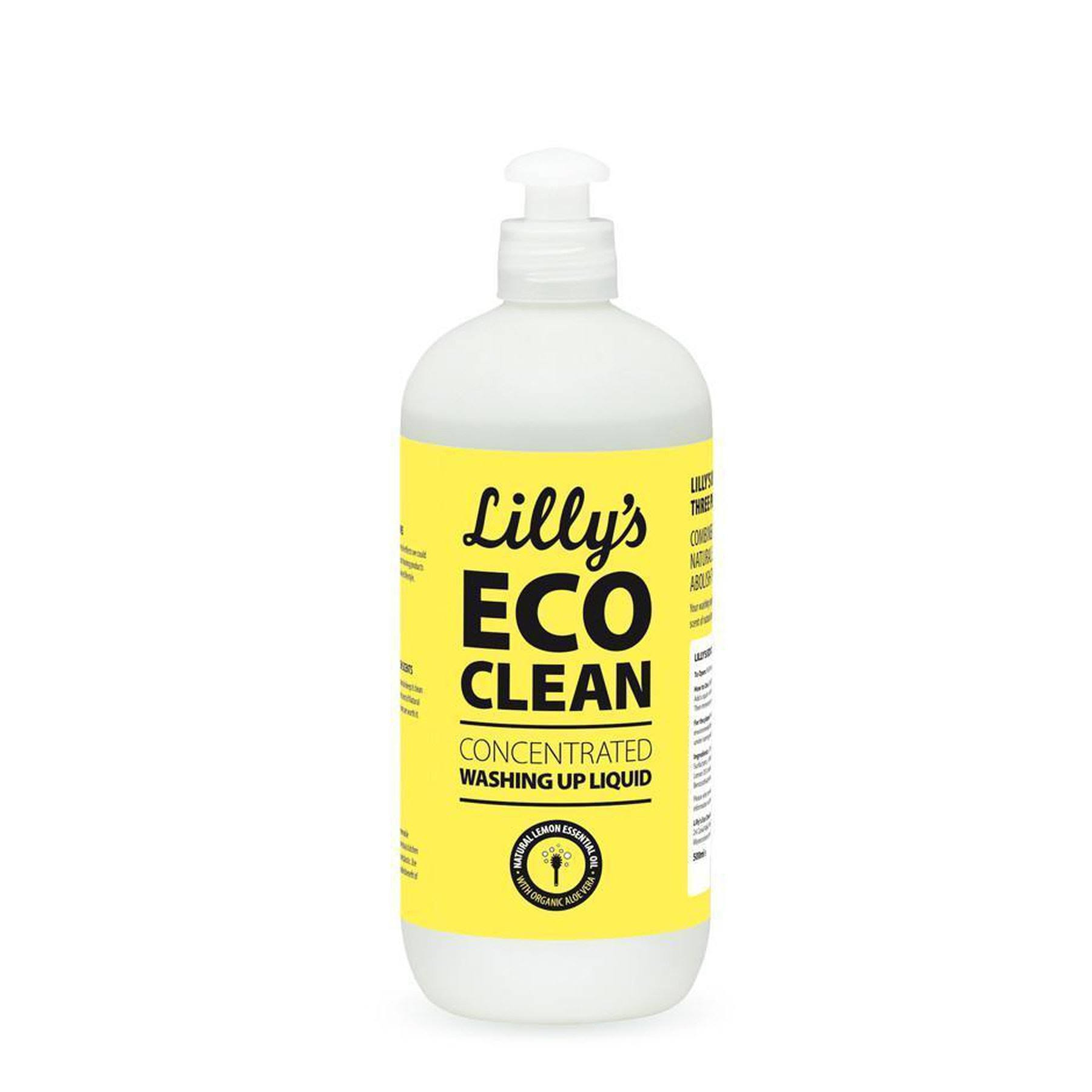 Lilly's Eco Clean Concentrated Washing Up Liquid - 500ml