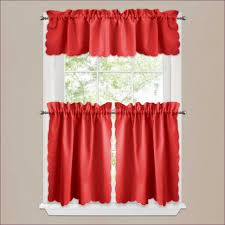 Pink Ruffle Curtain Topper by Evelyn Linen Blend Ruffle Bottom Blackout Panel Gypsy Ruffled