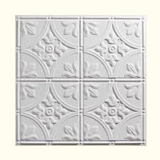 Tin Ceiling Tiles Home Depot by Genesis 2 Ft X 2 Ft Stucco Pro Black Ceiling Tile 760 07 The