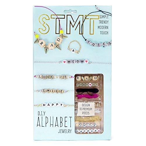 Horizon Group Stmt Diy Alphabet Jewelry Set - 10 Premium Pieces