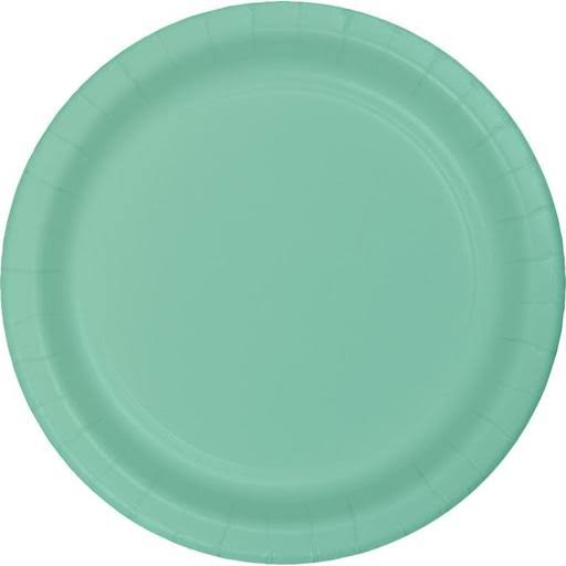 Touch of Color Lunch Plate - 7in, Fresh Mint, 24ct