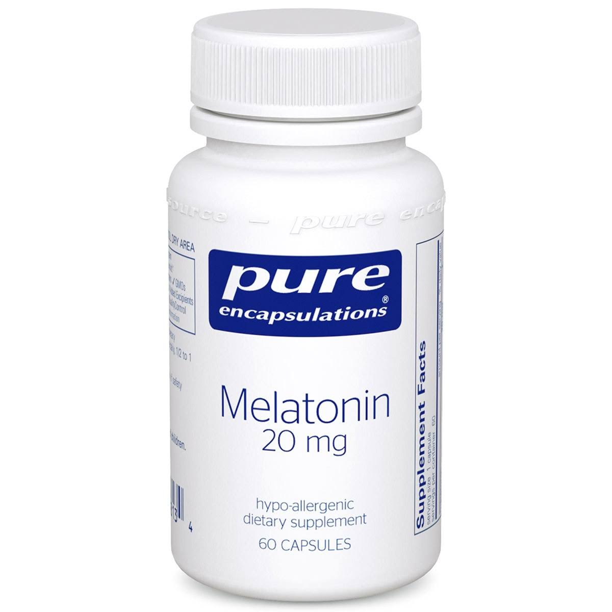 Pure Encapsulations Melatonin Dietary Supplement - 60ct