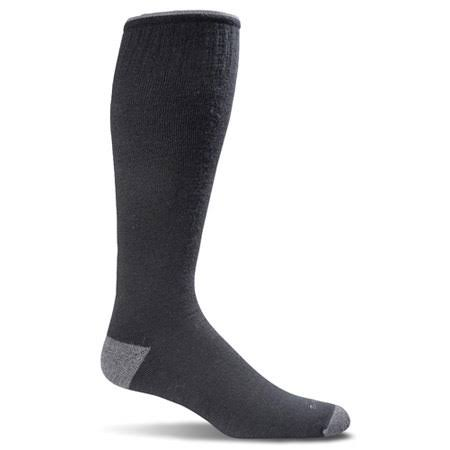 Sockwell Men's Elevation Compression Socks, Black, Medium/Large