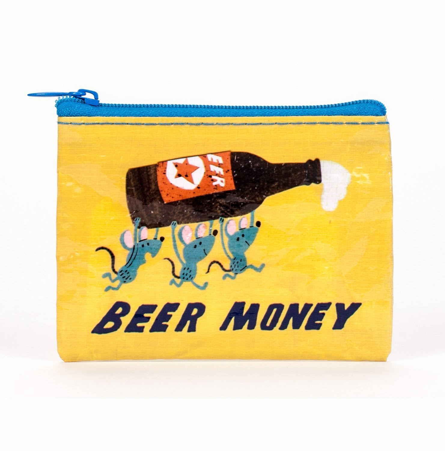 Blue Q Coin Purse - Beer Money