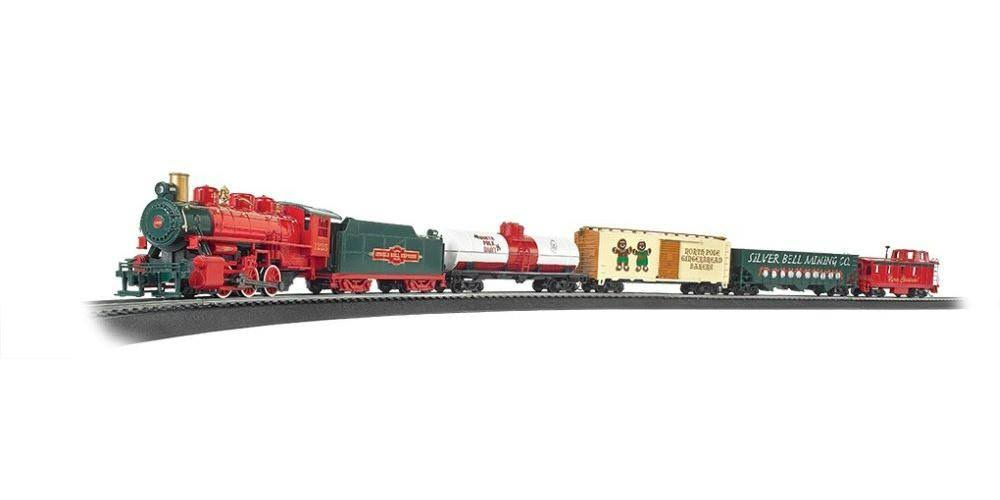 Bachmann Industries Jingle Bell Express Ready To Run Electric Train Toyset
